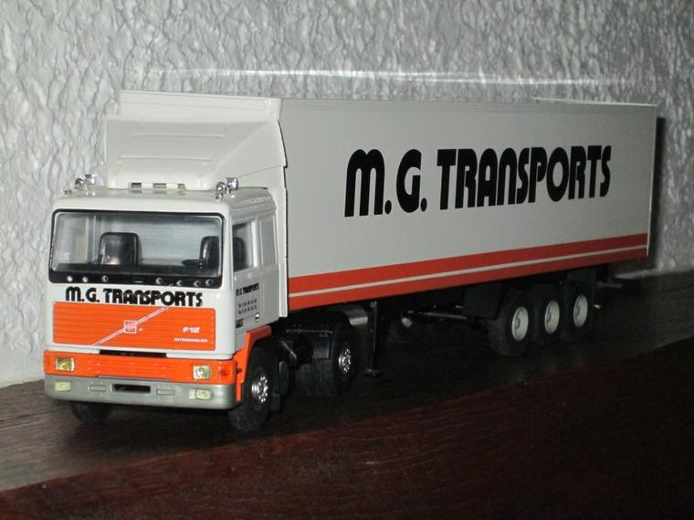 VOLVO F 12  intercooler SEMI MG TRANSPORTS