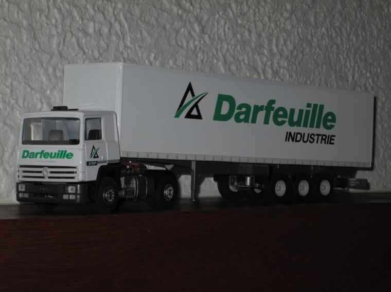 RENAULT R 340 TI SEMI FOURGON DARFEUILLE industrie