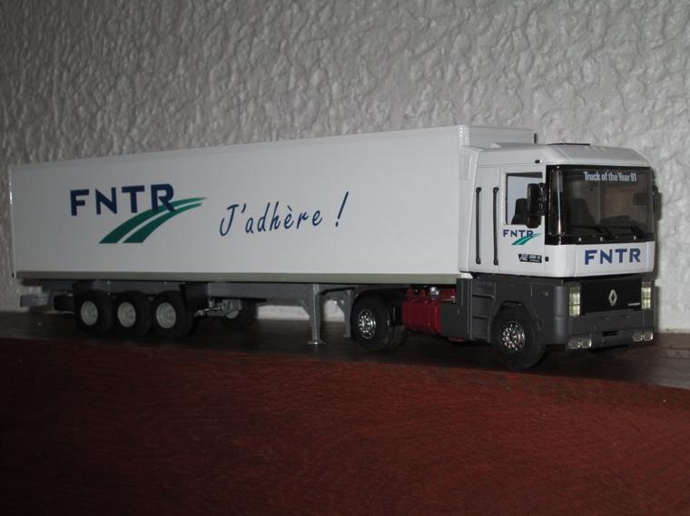 RENAULT MAGNUM AE 500 SEMI F.N.T.R  fedération nationale des transporteurs routiers