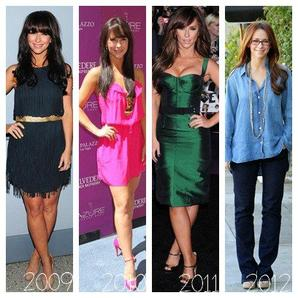 Evolution mode de Jennifer Love Hewitt