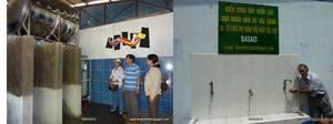 Des visiteurs et des actions humanitaires au Vietnam