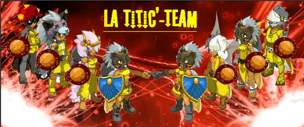 Bienvenue sur le blog de la Field-Team & la Team Titic'    (BLOG EN REPRISE)