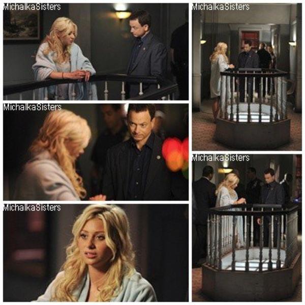 """6/09/11 : De nouvelles images d'Aly tournant dans un épisode de """"CSI : NY"""" on été dévoilées."""