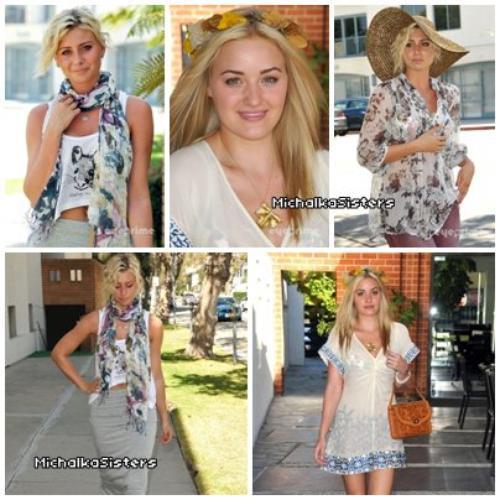 """07/09/11 : Alyson et Amanda ont été aperçues au """"P3 Show room"""" à Beverly Hills !"""