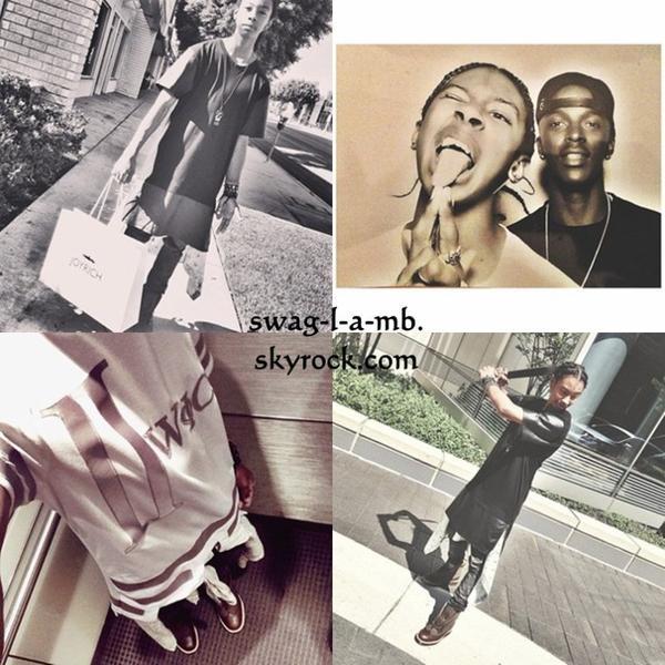 Instagram ♥ + AATW Tour c'est fini ! Donc, les garçons font leurs affaires a eux