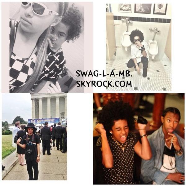 Instagram ♥ + Ray Ray étaient avec sa famille, Prodigy étaient avec des amis & a fait des photos avec des fans, Princeton est partie en promenade & Roc pas de nouvelle .