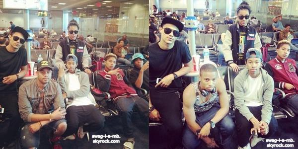 Instagram ♥ + Les garçons sont en route pour la Jamaïque. Roc était avec Desiree. Ray avec une amie. Prod avec ses amis & Prince un peu avec Ray & un peu autre part.