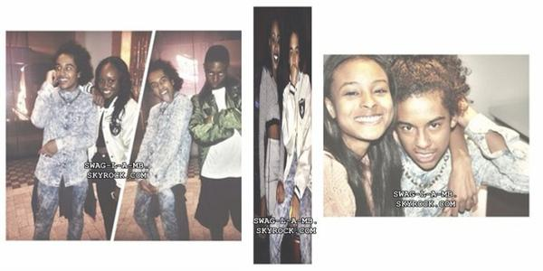 15/10/13. Instagram ♥ + Ray était avec des amis & il a une nouvelle coupe, Prince était avec des amis, Roc est rentré chez lui & Prod était avec des amis .