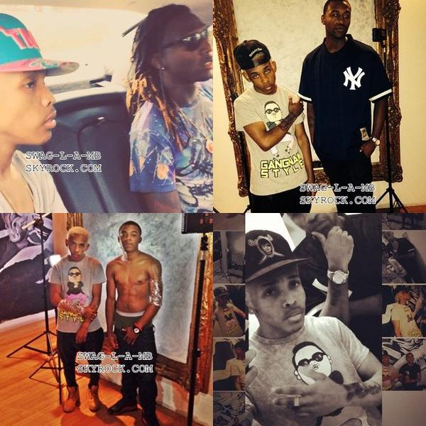 24/10/13. Instagram ♥ + Ray est restait avec sa famille, Prince est restait avec ses amis, Roc avec ses amis & Prod avec ses amis.