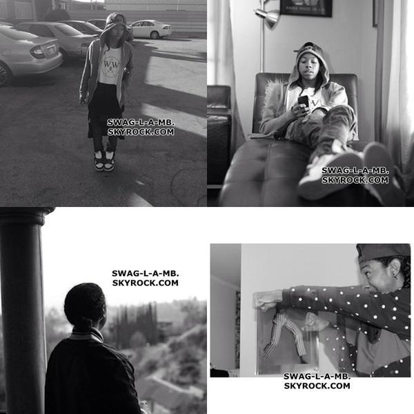 28/10/13. Instagram ♥ + Roc est restait toute une journée avec Desiree, Prod est restait toute une journée avec des amis, Princeton est restait avec Justine Skye, Rachel ect... & Ray est restait entrain de travailler sa marque de vêtement II WICE .