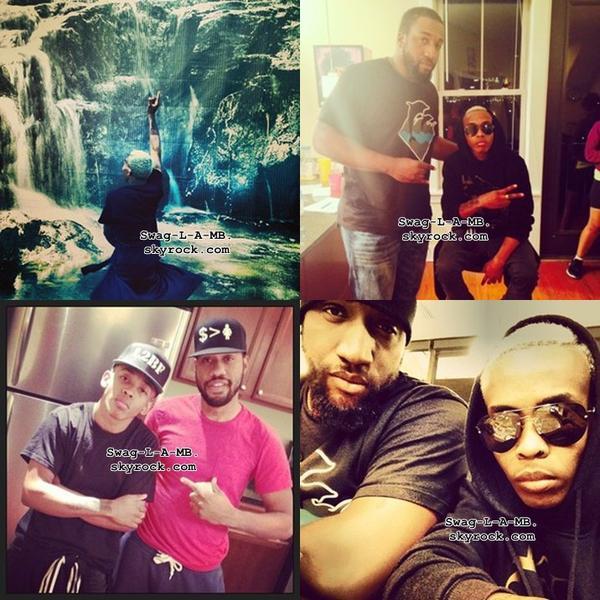 06/11/13. Instagram ♥ + Roc est resté chez lui, Prod était en sortit avec ses amis, Ray était avec ses amis & Prince a accueilli un bébé de sa famille.