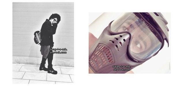 14/11/13. Instagram ♥ + Prince a ajouté trois photos sur son compte IG.
