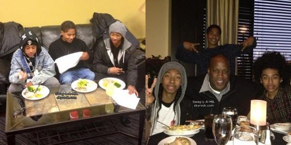 29/11/13. Instagram ♥ + Les MB ont mangés ensemble.