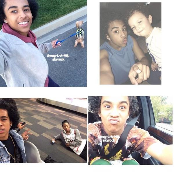 15.02.14 / Instagram :  Princeton a ajouté de nombreuses photos sur IG .