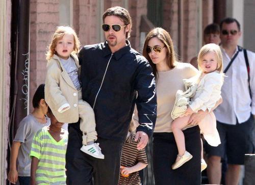 Knox et Vivienne Jolie-Pitt