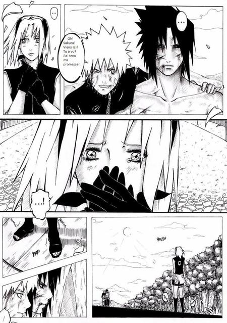 Doujin SasuSaku : The lost promise