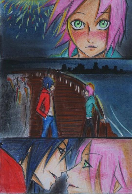 Douijn SasuSaku : Fireworks