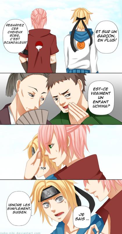 Mini scènes SasuSaku (2)