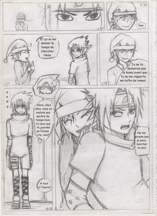 Doujin SasuSaku : A Small Favor [suite 4]
