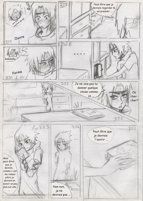 Doujin SasuSaku : A Small Favor [suite 5]