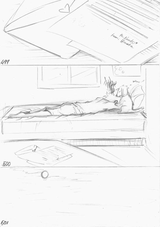 Doujin SasuSaku : A Small Favor [suite 10]