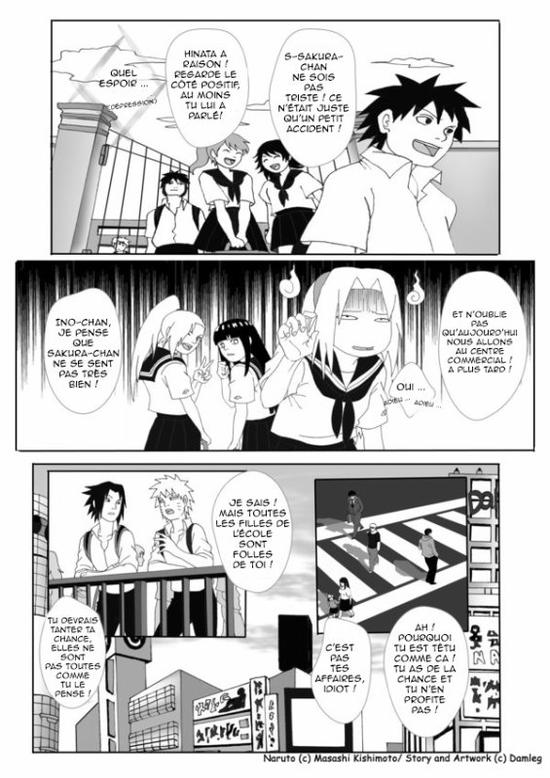 Doujin SasuSaku : Konoha High School