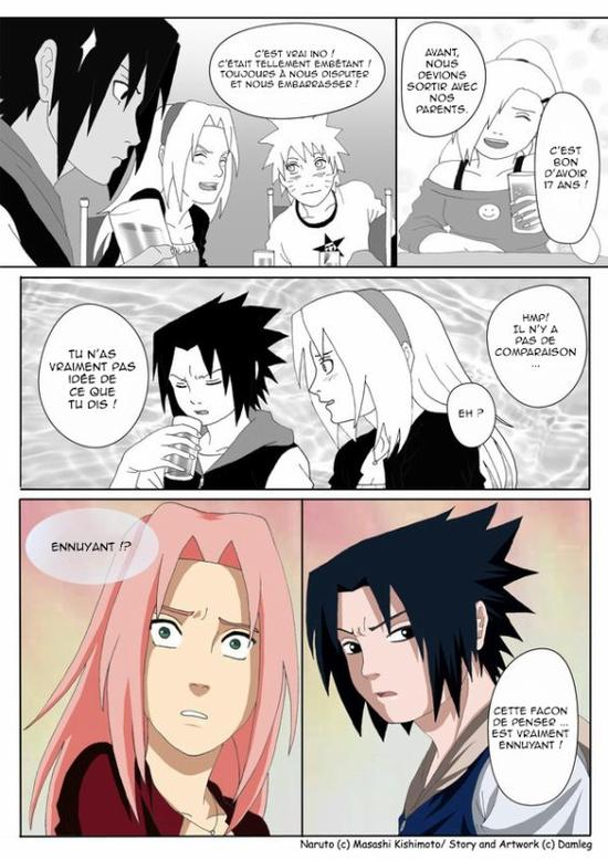 Doujin SasuSaku : Konoha High School [suite 2]