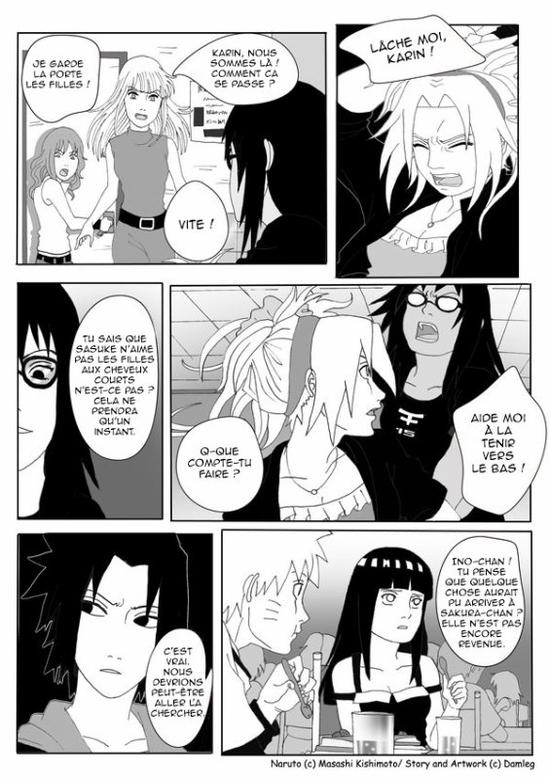 Doujin SasuSaku : Konoha High School [suite 3]