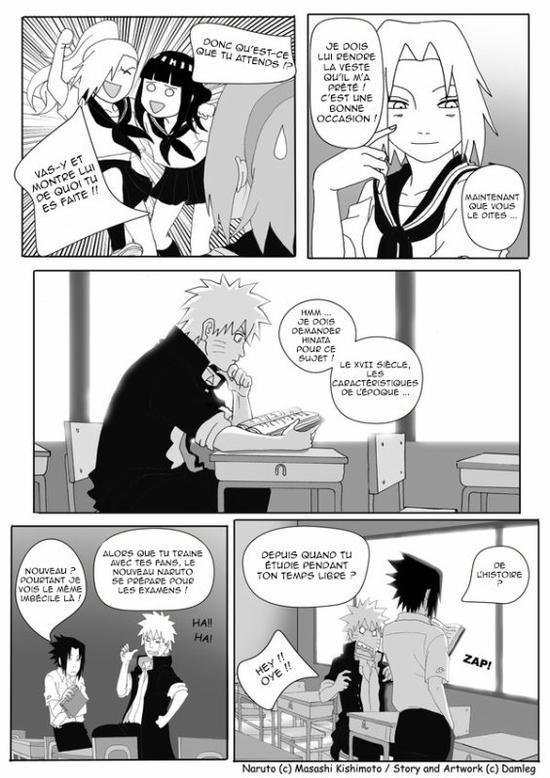 Doujin SasuSaku : Konoha High School [suite 5]
