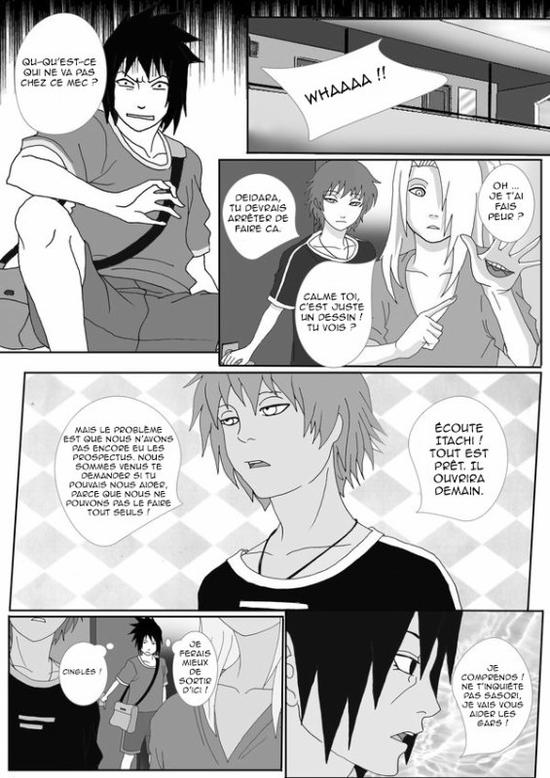 Doujin SasuSaku : Konoha High School [suite 8]