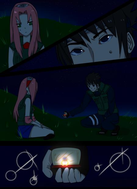 Mini scènes SasuSaku (4)