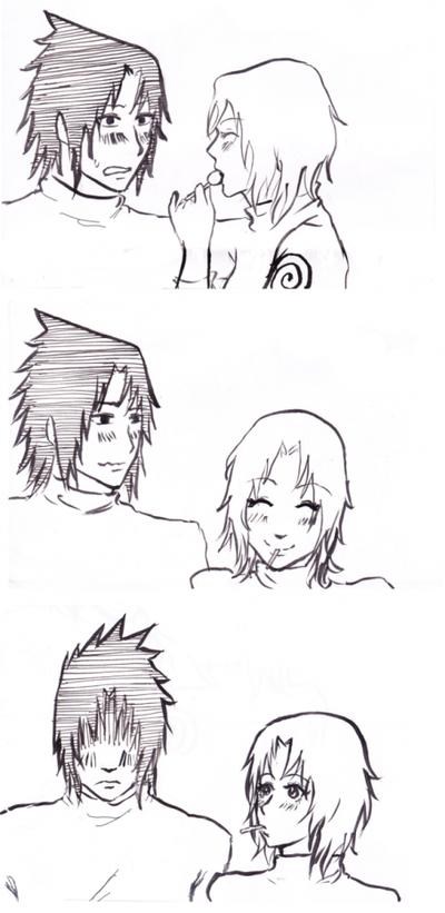 Mini scènes SasuSaku (6)