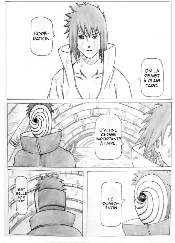 Doujin SasuSaku : The last time