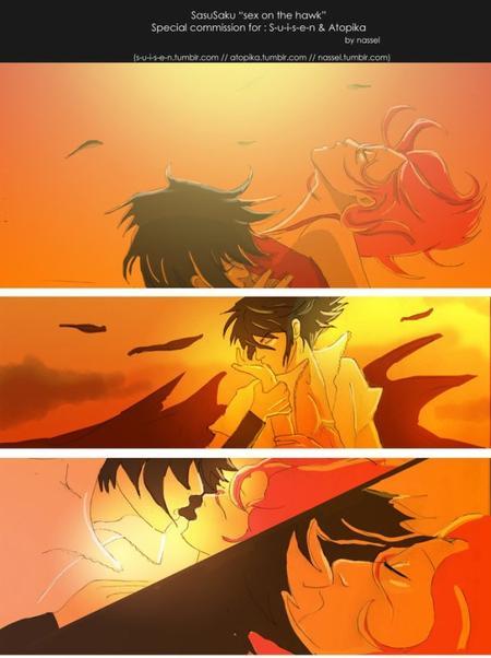 Mini scènes SasuSaku (13)