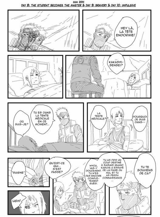 SasuSaku Month [Jour 10 : Impulsive]