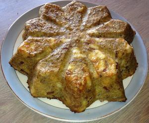 Gâteau pomme de terre carotte bacon - JSC