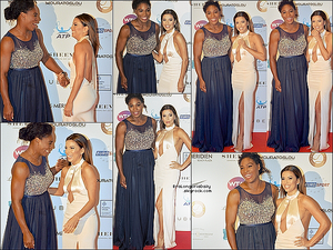 ✴ Eva est allée à la Soirée Champ'Seed qui est la Fondation de Serena Williams.  19 Mai 2015. Monaco, France. Tenue: Eva porte une Robe Gabriela Cadena & des Escarpins Brian Atwood.