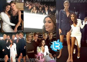 ✴ Eva a Fêté ses 10ans de collaboration avec la marque L'Oréal.  2o Mai 2015. Cannes, France.