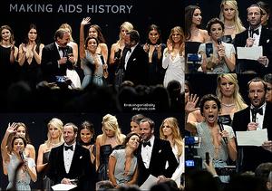 ✴ Enfin, Eva & Pepe sont allés au amfAR's 22nd Cinema Against AIDS Gala qui se déroulait à l'Hotel du Cap-Eden-Roc.  21 Mai 2015. Antibes, France. Tenue: Eva porte une Robe Georges Hobeika & des Escarpins Brian Atwood.