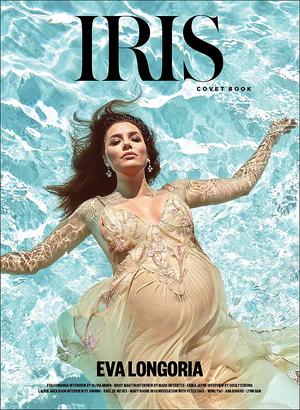 📷 Eva fait la Couverture du Magazine Iris Covet Book.  Mai 2o18.- États-Unis.