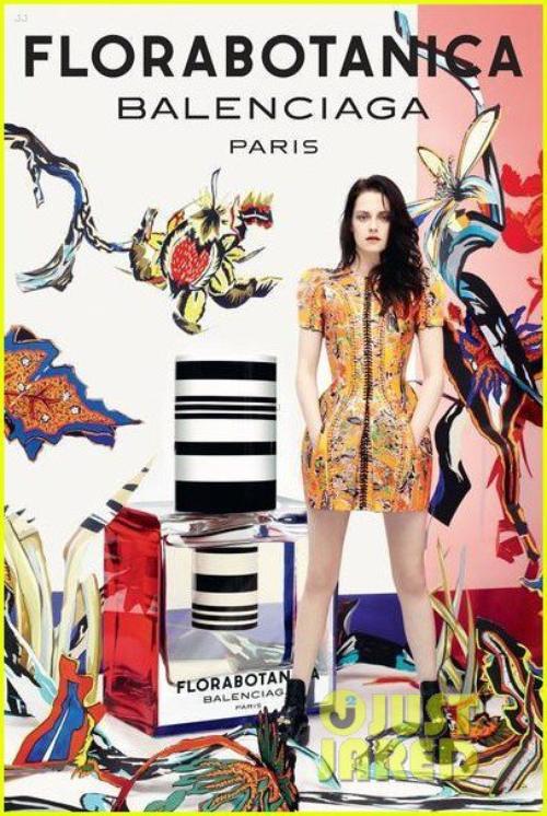 News: Kristen Stewart, nouveau visage du parfum Balenciaga