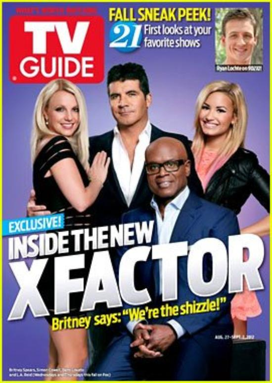 'X Factor' Judges Cover 'TV Guide' Magazine