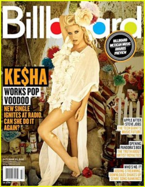 Ke$ha Covers 'Billboard' Magazine