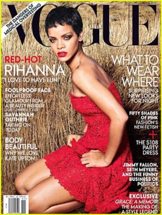 Rihanna: 'Vogue' November 2012 Cover!