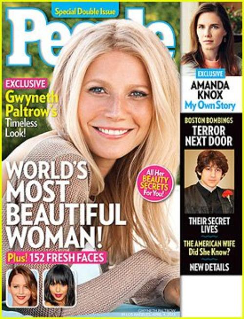 Gwyneth Paltrow: People's World's Most Beautiful Woman 2013!