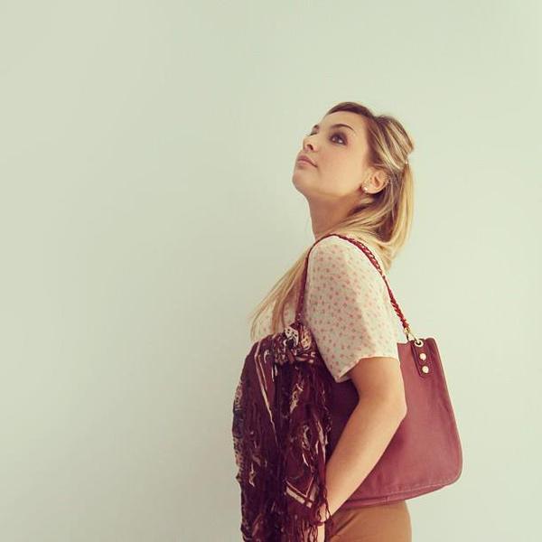 Priscilla en mode vintage