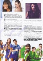 Lea fait la couverture du magazine 47 Street en Argentine