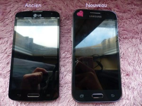 Mon nouveau téléphone ( Hors-Sujet )