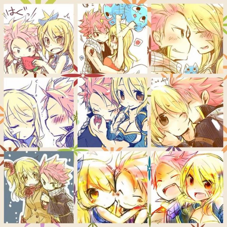 Mes montages NaLu x2
