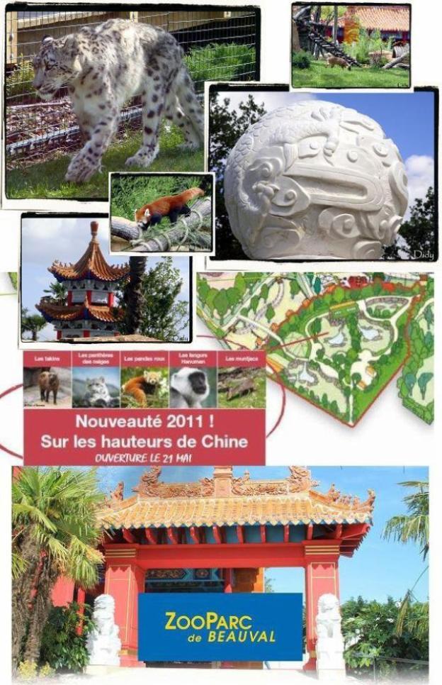 Voyage en chine éternelle, sur les hauteurs de chine Nouveauté 2011, zone ouverte depuis le 21 mai 2011